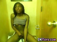 Ebony, Bath, Bathroom, Teen, Fapli.com